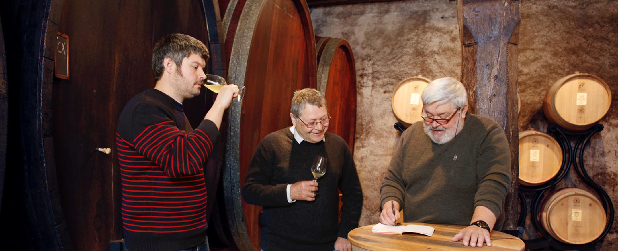 Guillame Potterat, Jacques Potterat et Jean-François Potterat